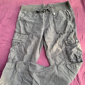 Old navy grey cargo pants